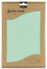 Studio Light Faux Leather Sheets - no. 7 Light Teal